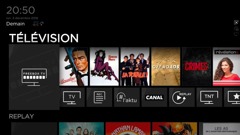 Le saviez-vous ? L'interface TV des Freebox Delta et One est entièrement personnalisable