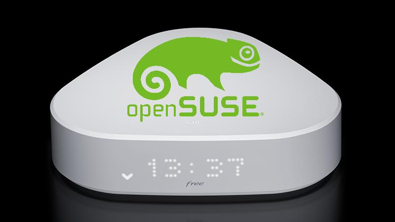 La Freebox Delta complète ses machines virtuelles avec Open SUSE