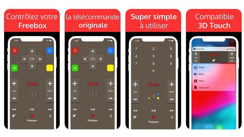 TélécFree : l'application de télécommande Freebox se met à jour