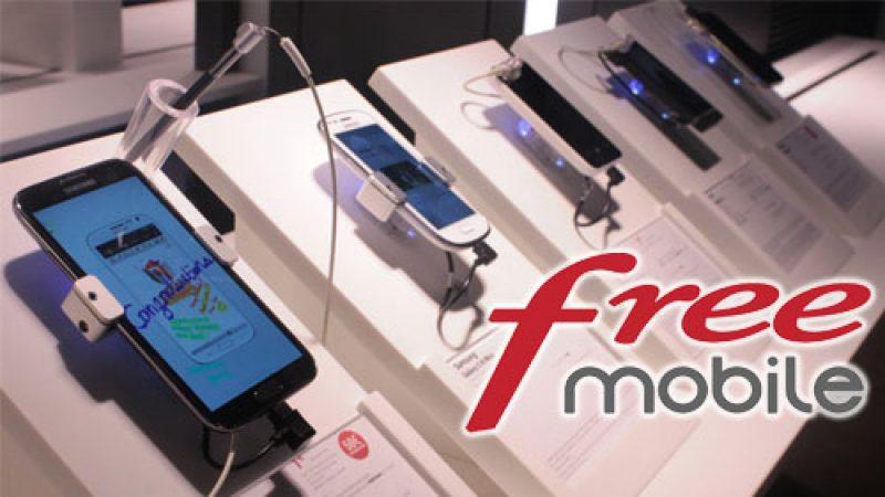 Free lance des promotions sur une série d'iPhone