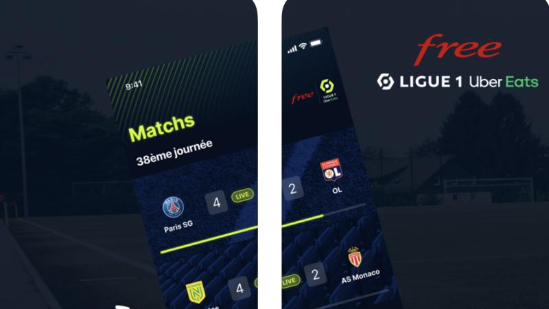 Le nouveau service Free Ligue 1 Uber Eats se met à jour sur iOS et Android