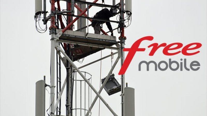 Où se trouvent les antennes 5G de Free en service ?