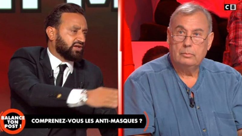 C8 : Cyril Hanouna demande à un intervenant de quitter le plateau après un geste inacceptable
