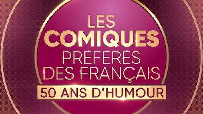 """France 2 : """"Les comiques préférés des Français"""" un prime mettant à l'honneur 50 ans d'humour à la française en octobre"""