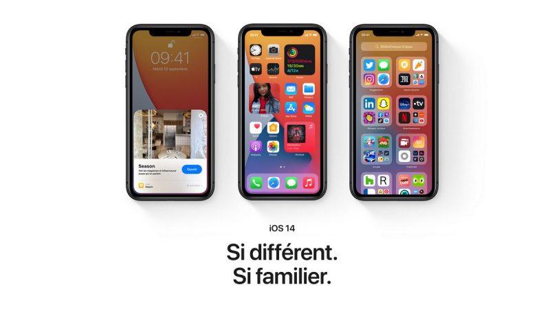 Apple déploie iOS 14, son nouveau système d'exploitation pour smartphone, petit tour des nouveautés