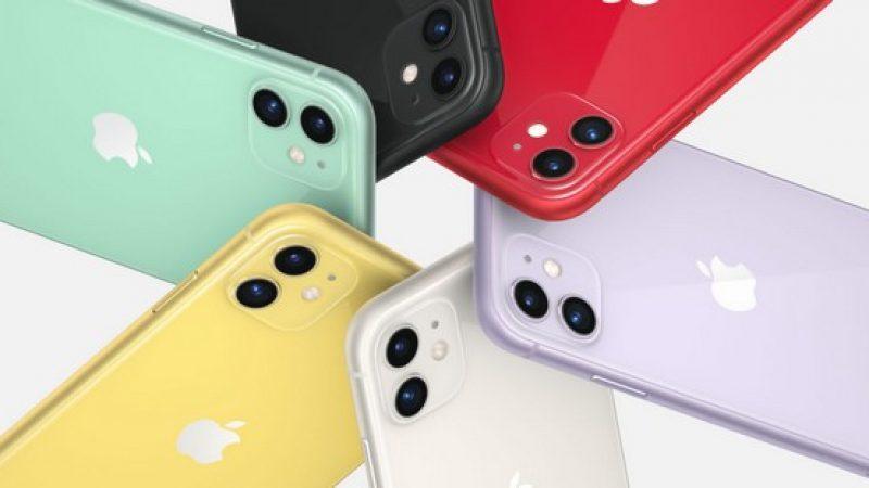 Free Mobile : les nouveaux iPhone 11 sont désormais disponibles à l'achat dans la boutique en ligne