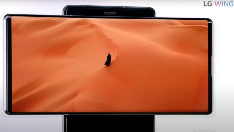 LG Wing : un nouveau smartphone au format très atypique