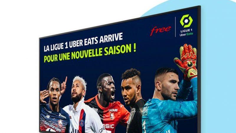 """Free Ligue 1 Uber Eats : """"ça marche"""" avec plus de 500 000 utilisateurs uniques le week-end dernier"""