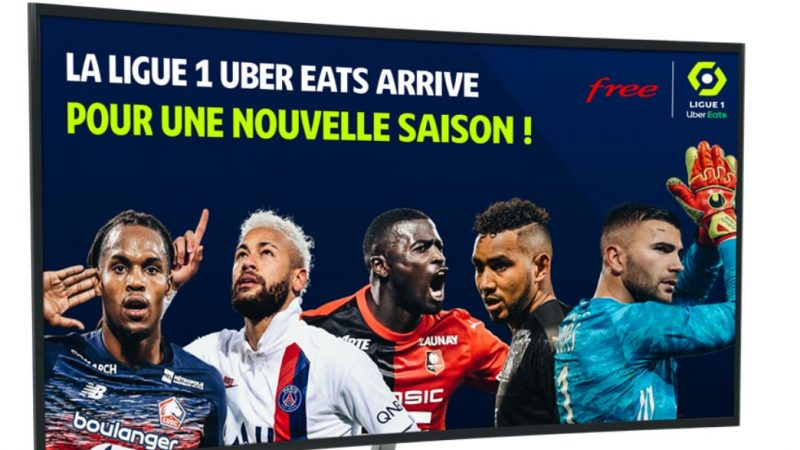 Free annonce des centaines de milliers d'utilisateurs pour son service Free Ligue 1 Uber Eats et étend la période de gratuité