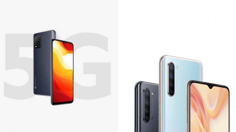 Choc des smartphones à 399 euros proposés par Free : Xiaomi Mi 10 Lite ou Oppo Find X2 Lite, lequel choisir ?