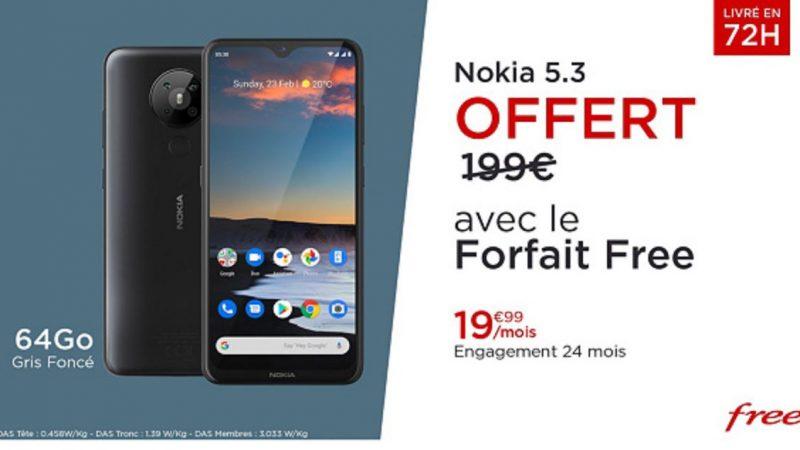 Free Mobile lance sa nouvelle offre spéciale sur Veepee avec un smartphone offert + Free Ligue 1 Uber Eats