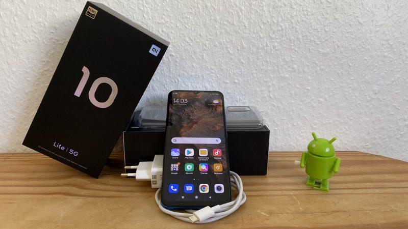 Xiaomi Mi 10 Lite : test du smartphone 5G disponible à moins de 400 euros dans la boutique Free Mobile