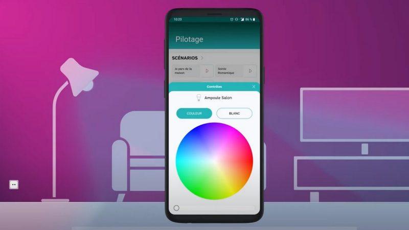 SFR Home : l'opérateur montre comment piloter sa maison connectée depuis son smartphone
