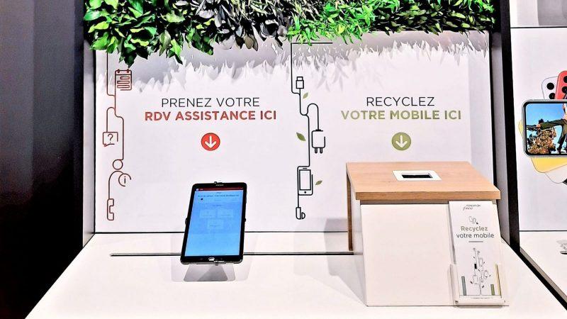 Free annonce collecter désormais vos vieux mobiles dans ses boutiques en vue de les recycler