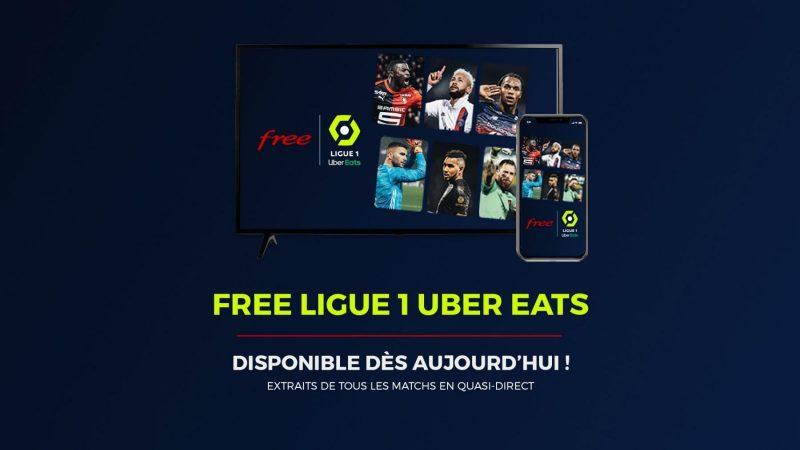 """Free Ligue 1 Uber Eats évolue avec """"une fournée de nouvelles fonctionnalités"""""""