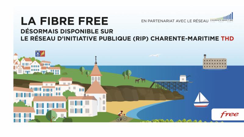 Free officialise le lancement de ses offres fibre sur un nouveau réseau Orange