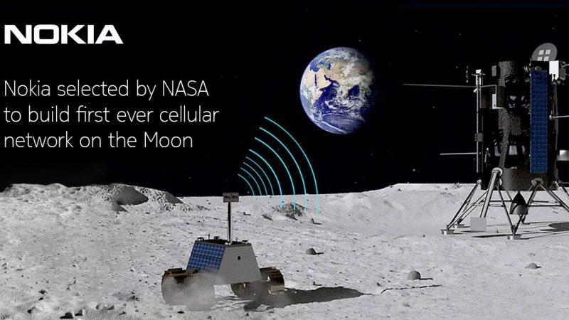 Clin d'oeil : Allô la Lune, ici la 4G, une zone blanche très lointaine dans le viseur