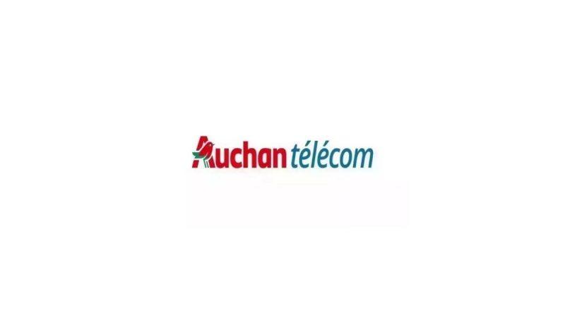 Auchan Telecom lance un forfait 100 Go en promotion à 9,99 euros par mois
