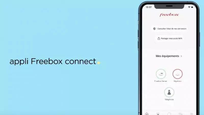 Free déploie une nouvelle version de son application Freebox Connect sur iOS