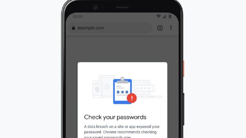 Google Chrome vous prévient désormais sur mobile si votre mot de passe a fuité