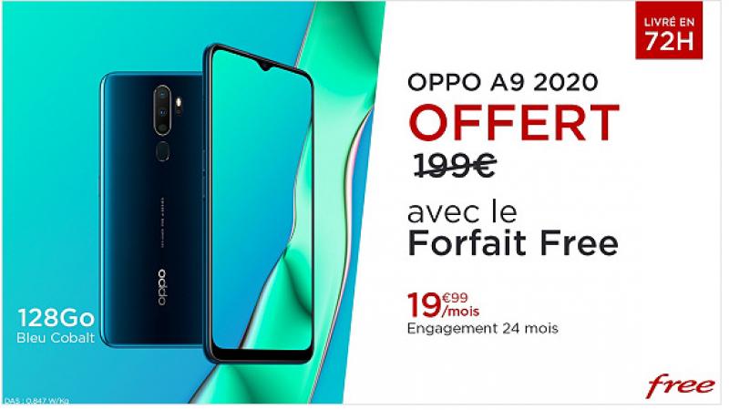 Free Mobile lance sa nouvelle offre spéciale avec forfait +  smartphone offert + Free L1 inclus