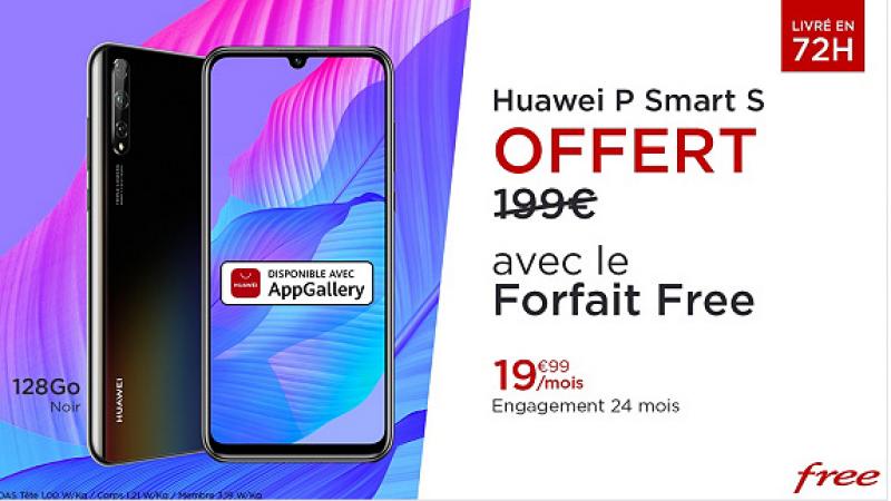 """Free Mobile permet de bénéficier quelques jours supplémentaires de son offre spéciale """"forfait + smartphone Huawei en cadeau"""""""