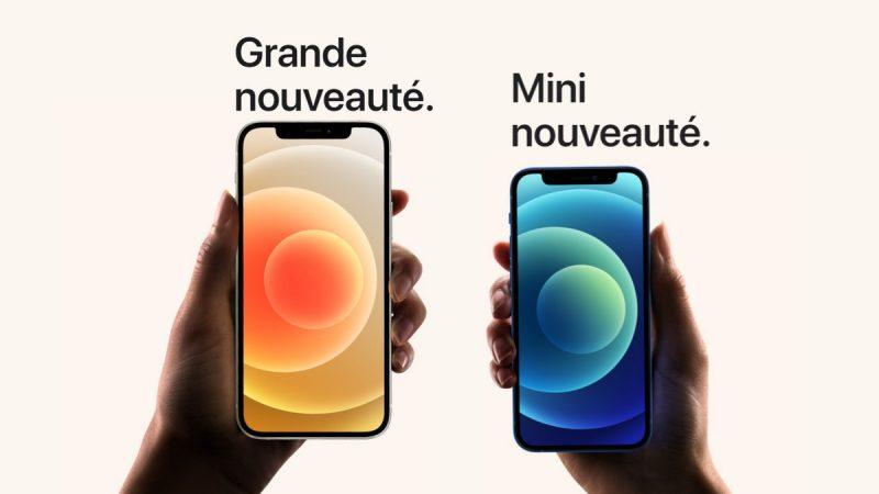 Les nouveaux iPhone 12 débarquent dans la boutique Free Mobile