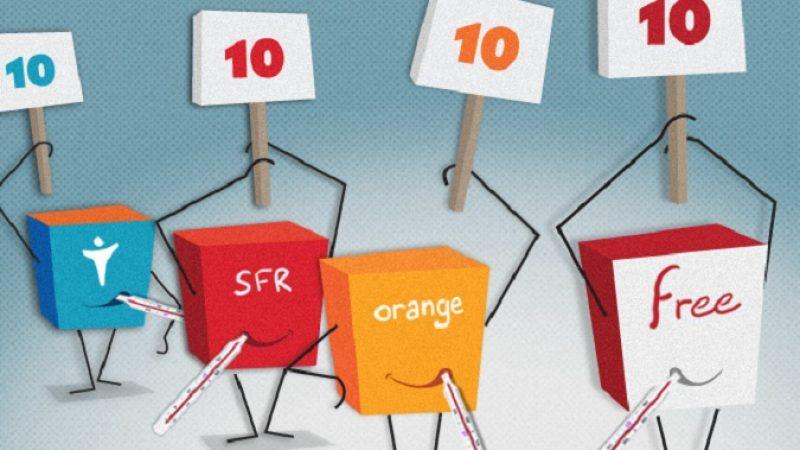 La Freebox élue première dauphine de Miss box internet, derrière la Livebox d'Orange