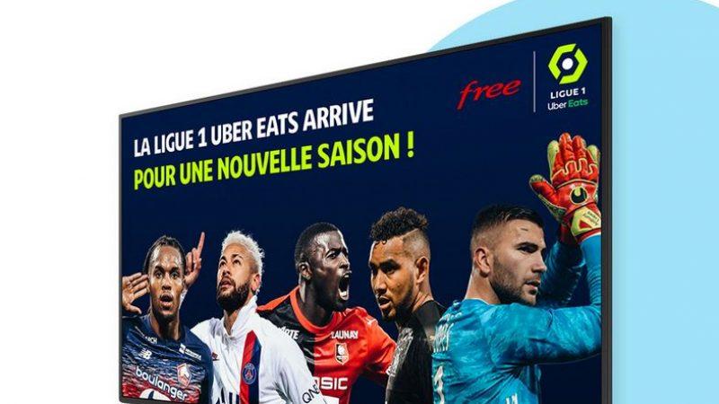 Free Ligue 1 Uber Eats dévoile ses premiers chiffres et se montre très productif