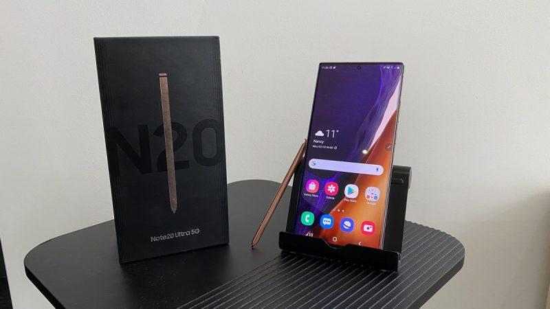 Test du Samsung Galaxy Note20 Ultra 5G disponible chez Free Mobile : il a tout pour lui, et ça se sent dans la main