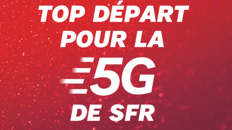 SFR lance officiellement ses forfaits 5G, avec promotion et nouvelles options dédiées au nouveau réseau mobile