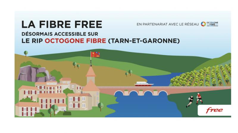 Free annonce le lancement de ses offres fibre sur un nouveau réseau