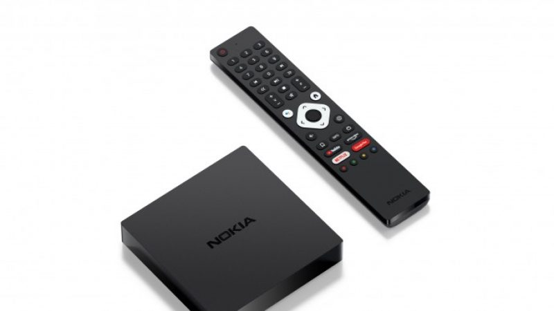 Nokia se positionne sur le marché des box Android avec la Streaming Box 8000