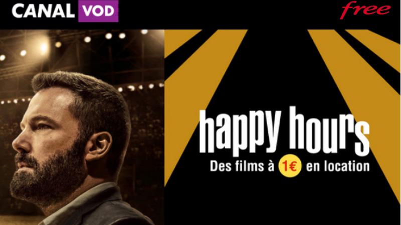 """Free et Canal envoient un mail aux Freenautes pour annoncer l'opération """"Happy Hours"""", qui a lieu uniquement ce vendredi"""