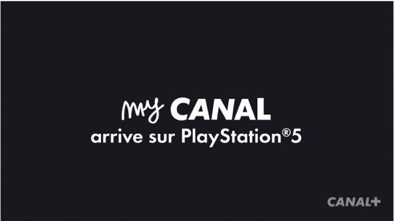 L'expérience myCANAL débarque sur la Playstation 5