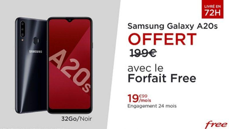 Encore quelques heures pour bénéficier d'un Samsung gratuit avec le forfait Free, l'offre ne sera pas prolongée