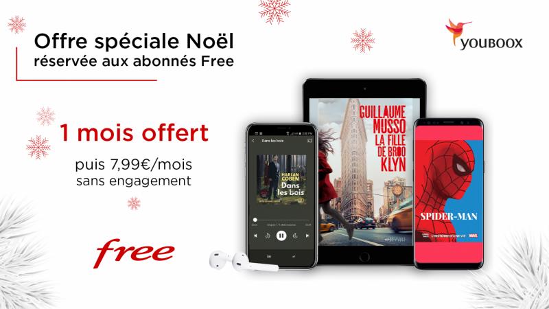 """Free lance """"une offre spéciale Noël réservée aux abonnés Free"""""""