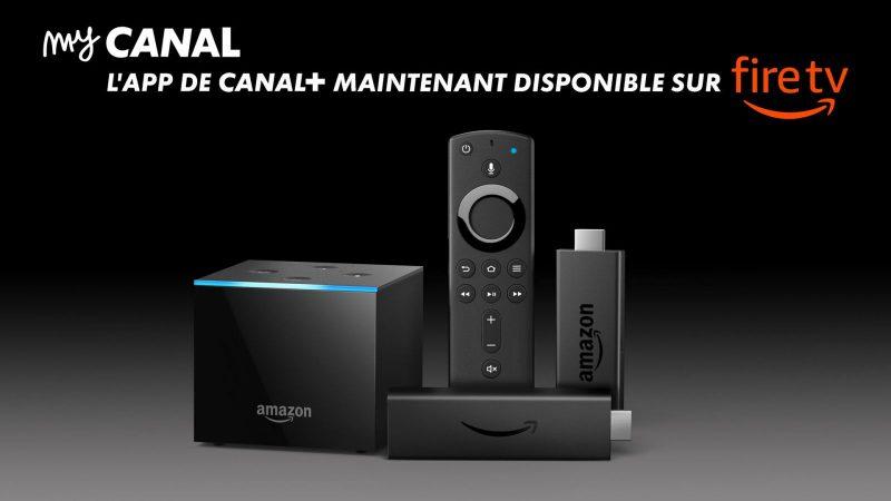 L'application myCANAL est désormais disponible sur le Fire TV Stick d'Amazon