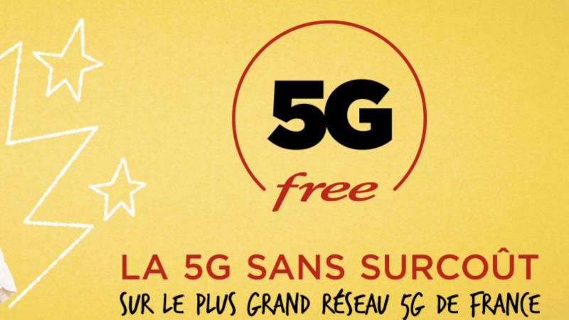 Free lance sa 5G sans surcoût et frappe fort avec un forfait 150 Go à 19,99€/mois