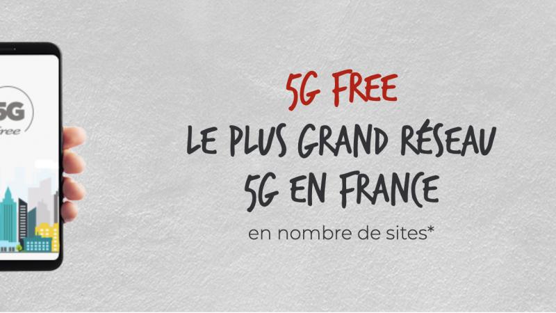 Free lance sa carte de couverture 5G, découvrez si vous êtes couverts