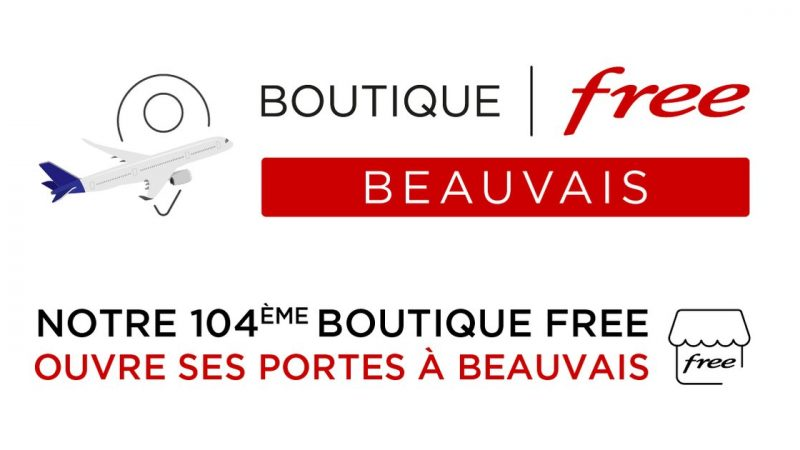Free annonce l'inauguration de sa 104e boutique dès demain