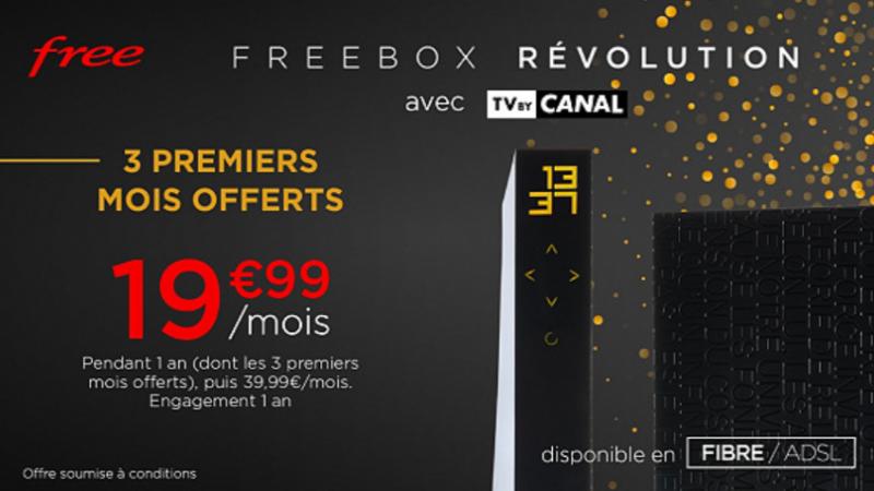 L'offre spéciale Freebox Révolution avec 3 mois offerts, valable plus longtemps que prévu