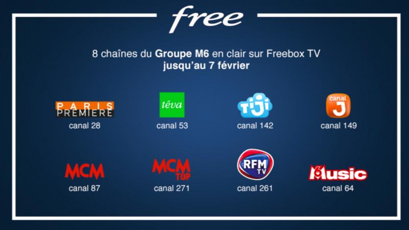 C'est parti pour 9 nouvelles chaines offertes sur Freebox