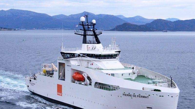 Fibre : Orange annonce la construction d'un nouveau navire câblier et continue de s'investir dans les câbles sous-marins
