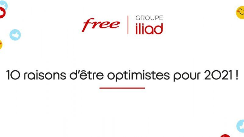 Thomas Reynaud, le directeur général d'Iliad, donne 10 bonnes raisons d'être optimiste chez Free en 2021