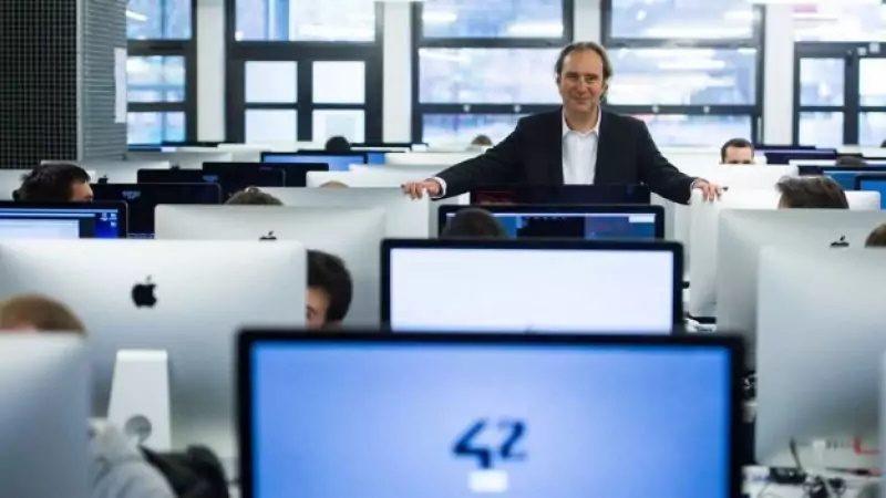 Deux nouvelles antennes de 42, l'école de Xavier Niel, sont prévues en France