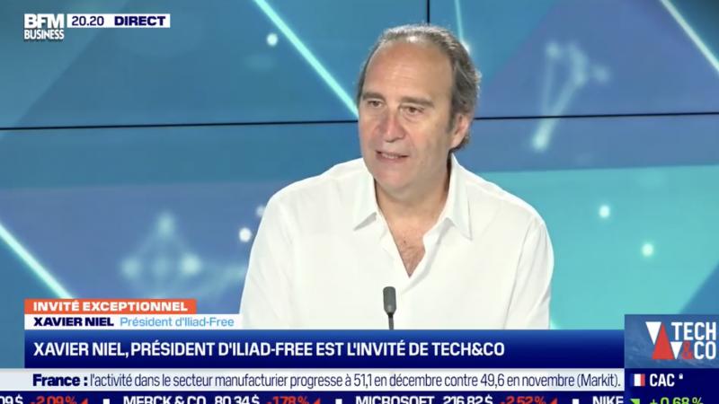 """La 5G à Paris """"avant fin février"""" chez Free, Orange, SFR et Bouygues d'après Xavier Niel"""