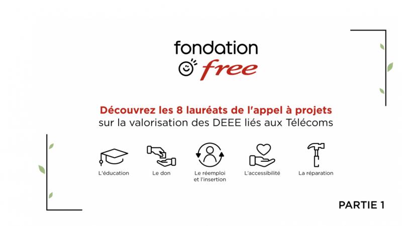 La Fondation Free dévoile les lauréats de son appel à projets orienté écologie et télécoms