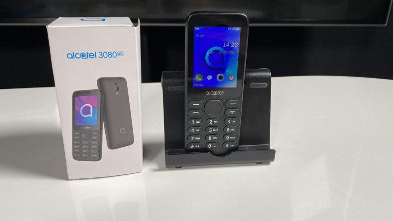 Alcatel 3080 : Univers Freebox a testé le mobile le moins cher de la boutique Free Mobile