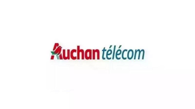 Auchan Telecom : deux forfaits mobiles 50 et 60 Go en promotion